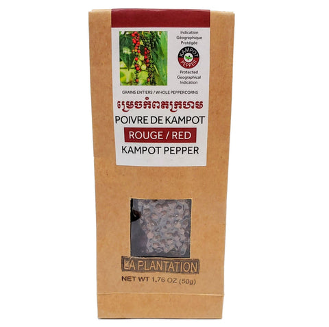 Kampot Red Peppercorns 50g