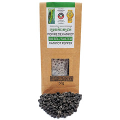 Kampot Salted Peppercorns 50g