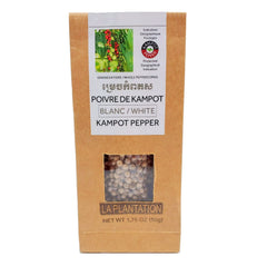 Kampot White Peppercorns 50g