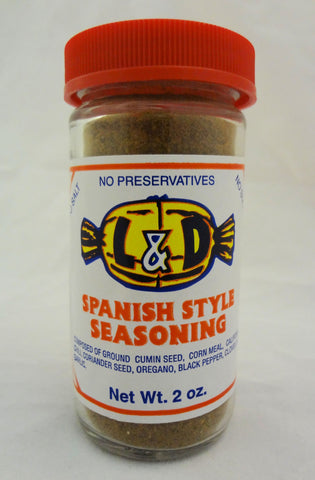 L&D Spanish Style Seasoning 2oz