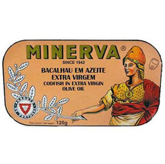 Minerva Bacalhau in Extra Virgin Oil