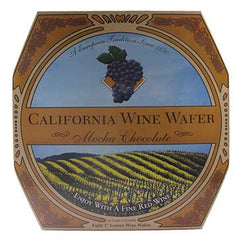 California Wine Wafer Mocha Chocolate