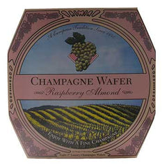 California Champagne Wafer Raspberry Almond