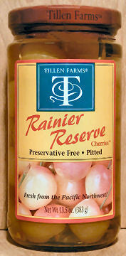 Tillen Farms Rainier Reserve Cherries