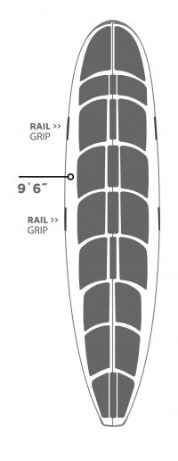HOT GRIP WAX MAT LONGBOARDS