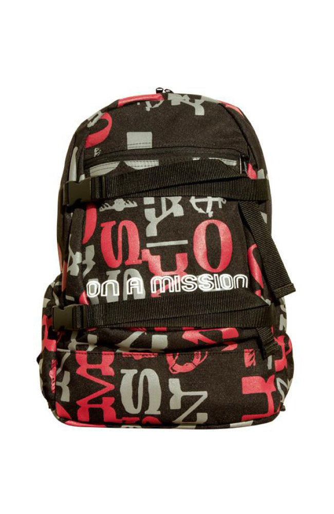 GROM Mission Backpack Red Artsy