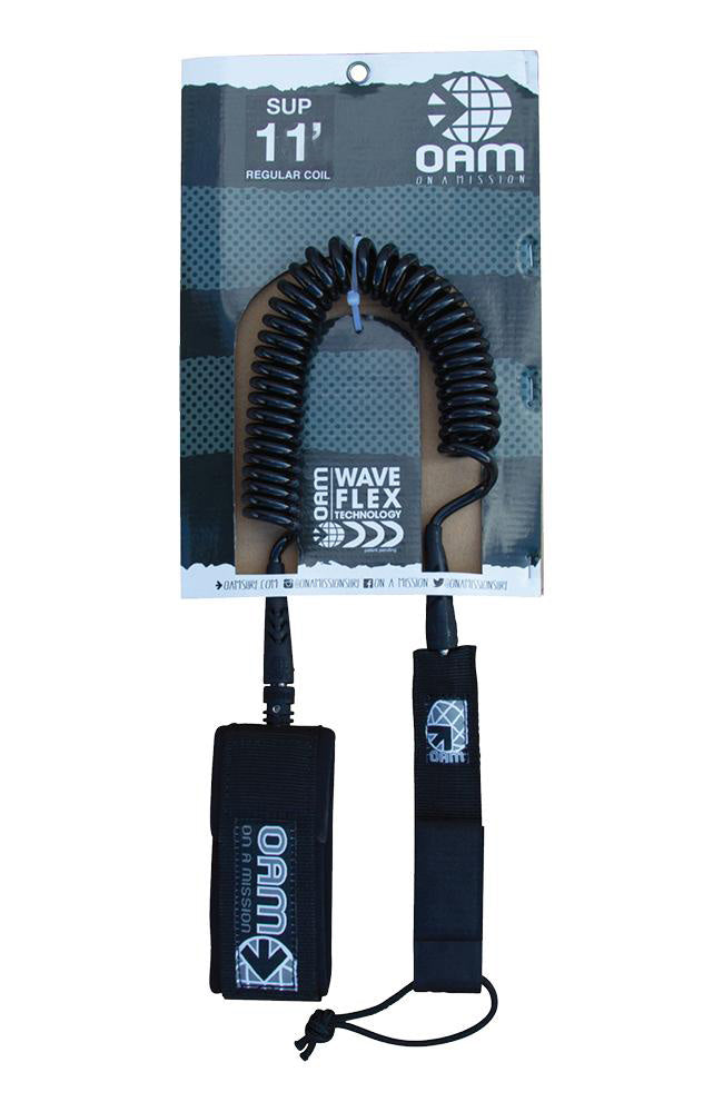11' Straight Coil SUP Leash