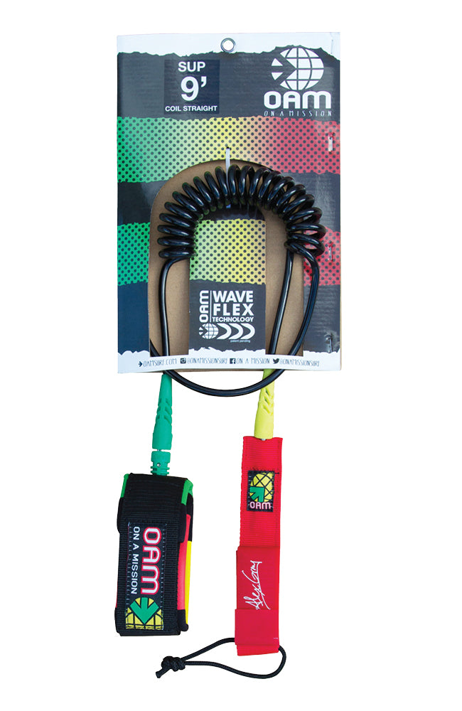 9' Straight Coil SUP Leash