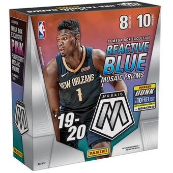 2019/20 Mosaic Basketball Mega Box