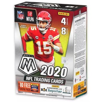 2020 Panini Mosaic Football Blaster Box