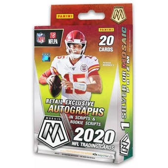 2020 Panini Mosaic Football Hanger Box