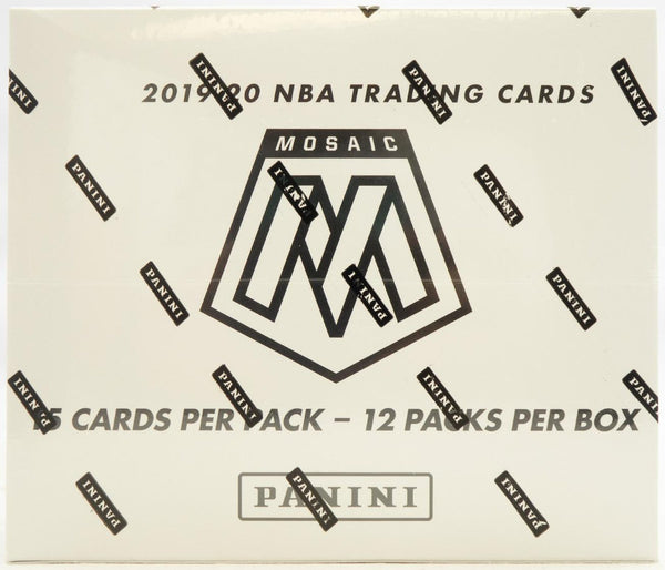 2019/20 Panini Mosaic Basketball Multi Pack Box