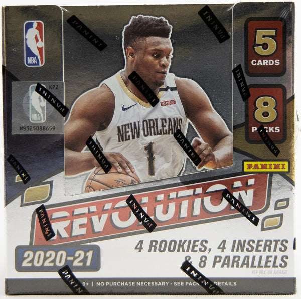 2020/21 REVOLUTION BASKETBALL SEALED HOBBY BOX