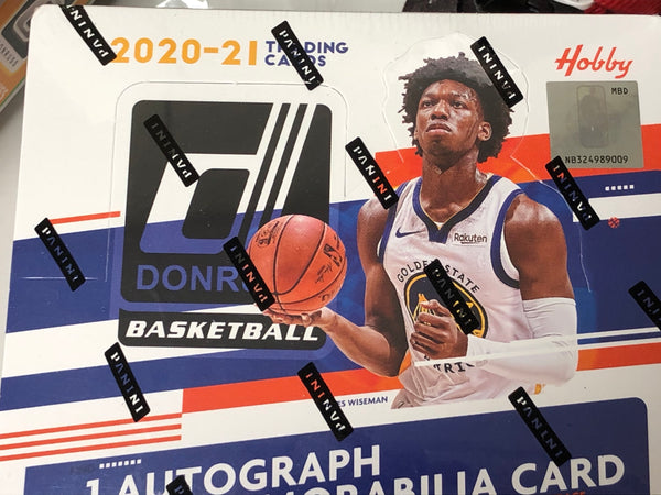 2020/21 DONRUSS BASKETBALL SEALED HOBBY BOX