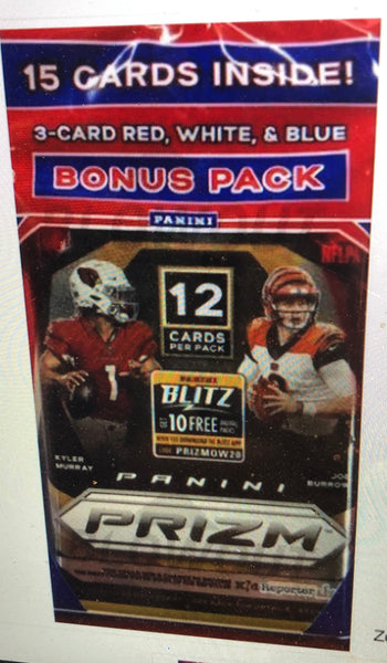 2020 PRIZM FOOTBALL SEALED CELLO MULTI-PACK