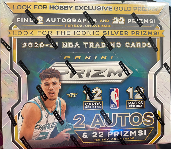 2020/21 PRIZM BASKETBALL SEALED HOBBY BOX