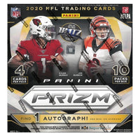 2020 Panini Prizm Football Mega Box   WAL-MART