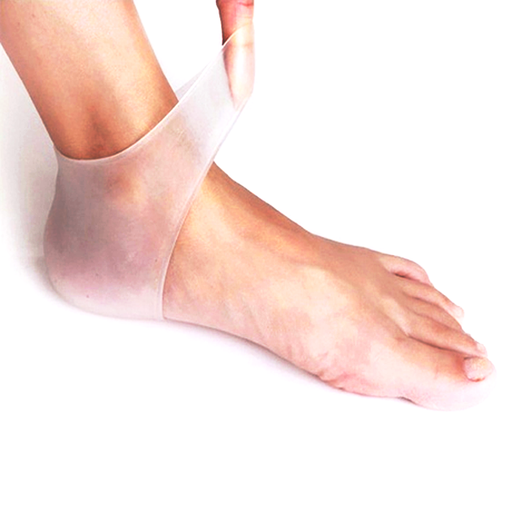 Silicone Gel Heel and Ankle Sleeve for Plantar Fasciitis-Rama Deals