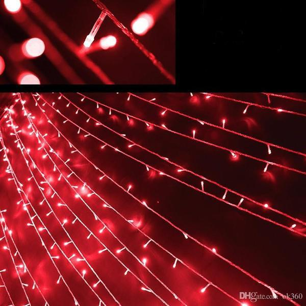 17-Meter String of 100 LED Solar-Powered Fairy Lights