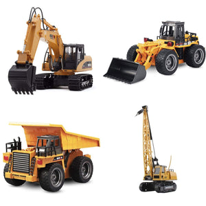 2019 RC Construction Vehicles A SERIE OF 4 gotolovely