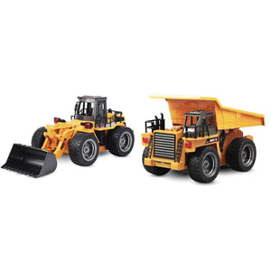 2019 RC Construction Vehicles BULLDOZER & DUMP TRUCK gotolovely