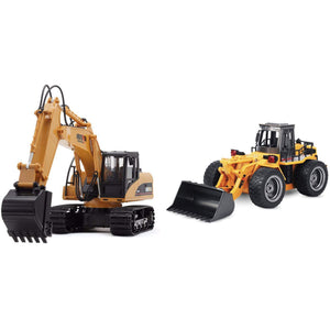 2019 RC Construction Vehicles EXCAVATOR & BULLDOZER gotolovely