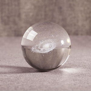 3D Galaxy Crystal Ball gotolovely