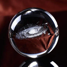 Load image into Gallery viewer, 3D Galaxy Crystal Ball just ball gotolovely