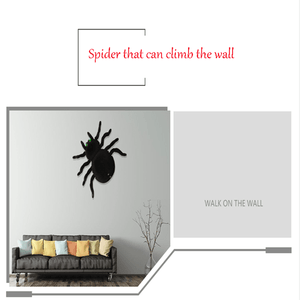 50%OFF-Halloween Wall Crawler Oversized simulation spider gotolovely