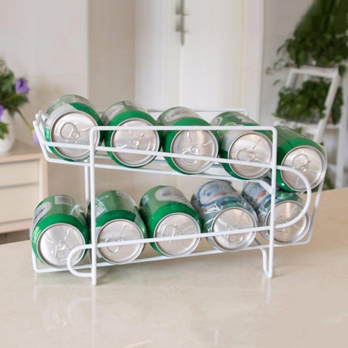 Double Layer Rack Cola Holder
