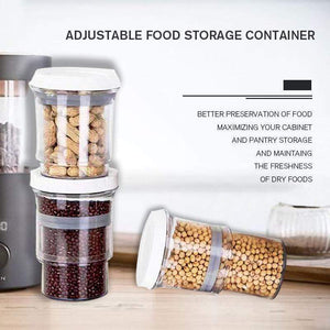 Adjustable Food Storage Container 1 PCS gotolovely
