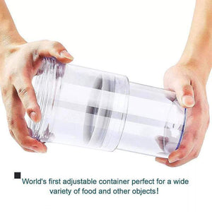 Adjustable Food Storage Container gotolovely