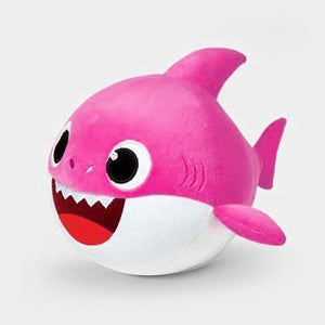 Animated Dancing Shark Plush Doll Pink gotolovely