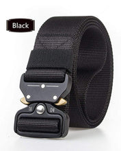 Load image into Gallery viewer, Army Tactical Belt black gotolovely