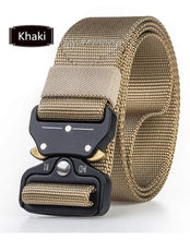 Load image into Gallery viewer, Army Tactical Belt khaki gotolovely