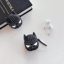 Load image into Gallery viewer, Avengers Airpods Case Black Panther gotolovely