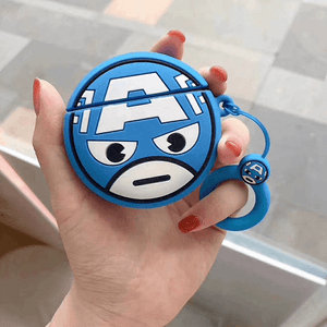 Avengers Airpods Case Captain America gotolovely