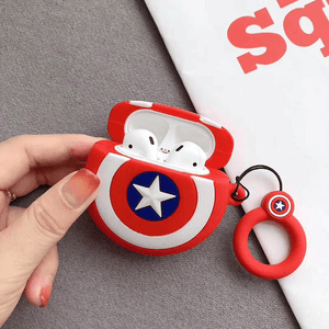 Avengers Airpods Case Captain Shield gotolovely