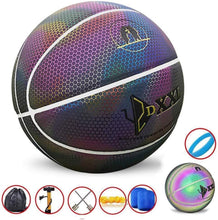 Load image into Gallery viewer, Basketball Hoop Sensor LED & Luminous Basketball Luminous Basketball (Black) (50% OFF) gotolovely