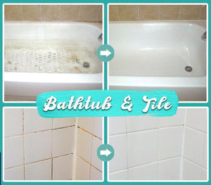 Bathroom Rinse-Free Bubble Cleaner gotolovely