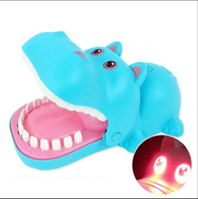 Load image into Gallery viewer, BITING GAME!  2019 HOT PARTY TOYS & FAMILY GAME Blue hippo gotolovely