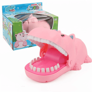 BITING GAME!  2019 HOT PARTY TOYS & FAMILY GAME Pink hippo gotolovely