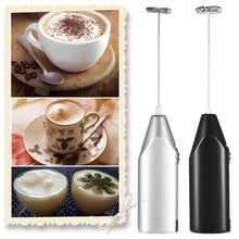 Load image into Gallery viewer, Mini Handle Kitchen Tools Coffee Milk frother foamer Electric Hand Mixer Blenders gotolovely