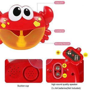 Bubble Crab Toy gotolovely