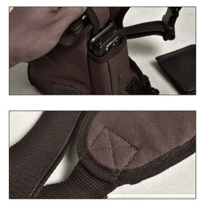 Canvas Waist Drop Leg Bag gotolovely