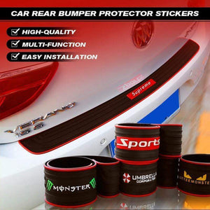 Car Rear Bumper Protector Stickers gotolovely