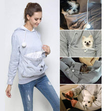 "Load image into Gallery viewer, Cat & Dog Hoodie with Pouch - ""The Paw"" gotolovely"