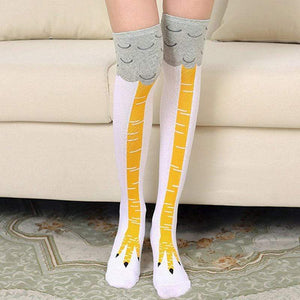 Chicken Legs Socks(Buy one Get one FREE!!!) white / pink gotolovely