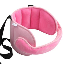 Load image into Gallery viewer, Child Car Seat Head Support Pink gotolovely