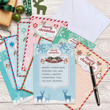 Load image into Gallery viewer, Christmas Card Diamond Picture, Set of 8 Patterns gotolovely